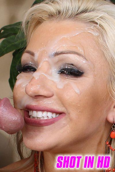 Nikko jordan takes all the cum on her big tits 5
